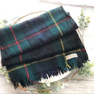 Hilltop top brand 100% pure wool fringe scarf